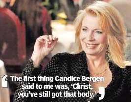 Body heat: Joanna Cassidy romances Shatner on �Boston Legal�